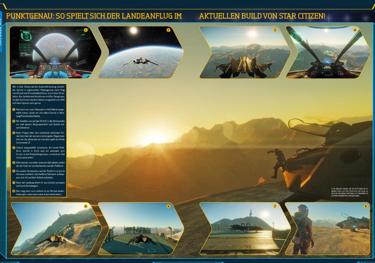 Star Citizen - новые подробности о планетах и скриншоты игры из свежего выпуска журнала PC Games. - Изображение 7