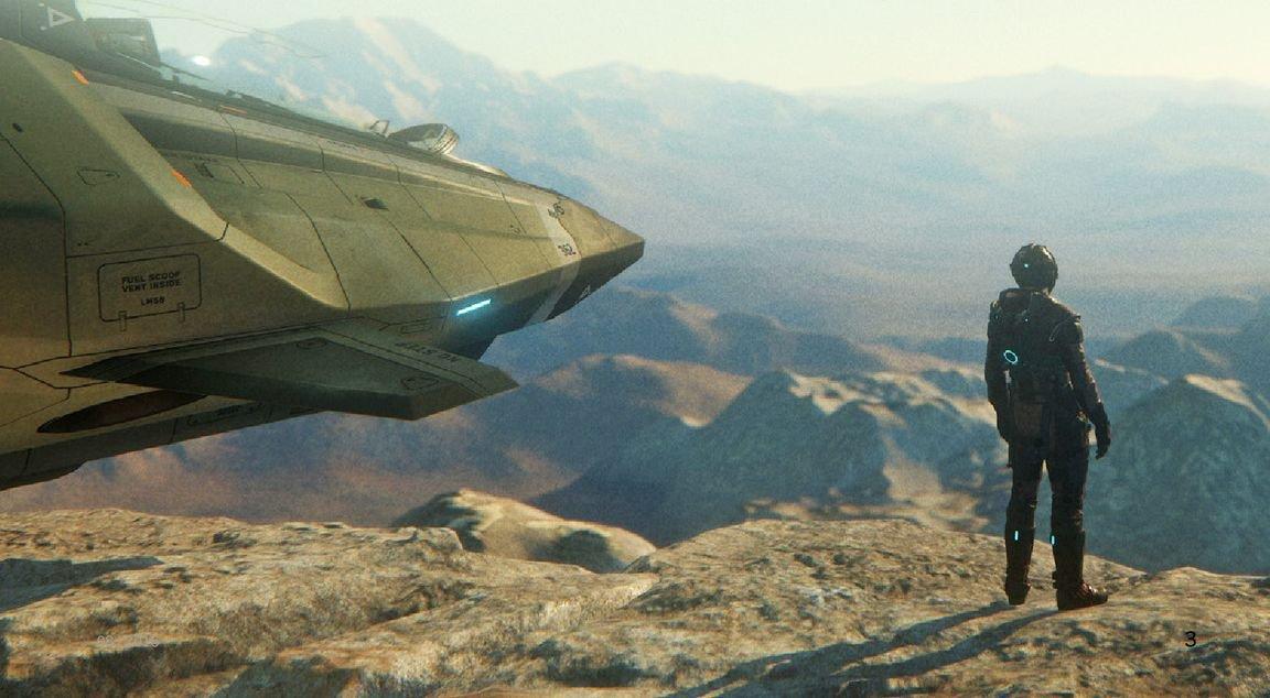 Star Citizen - новые подробности о планетах и скриншоты игры из свежего выпуска журнала PC Games. - Изображение 8