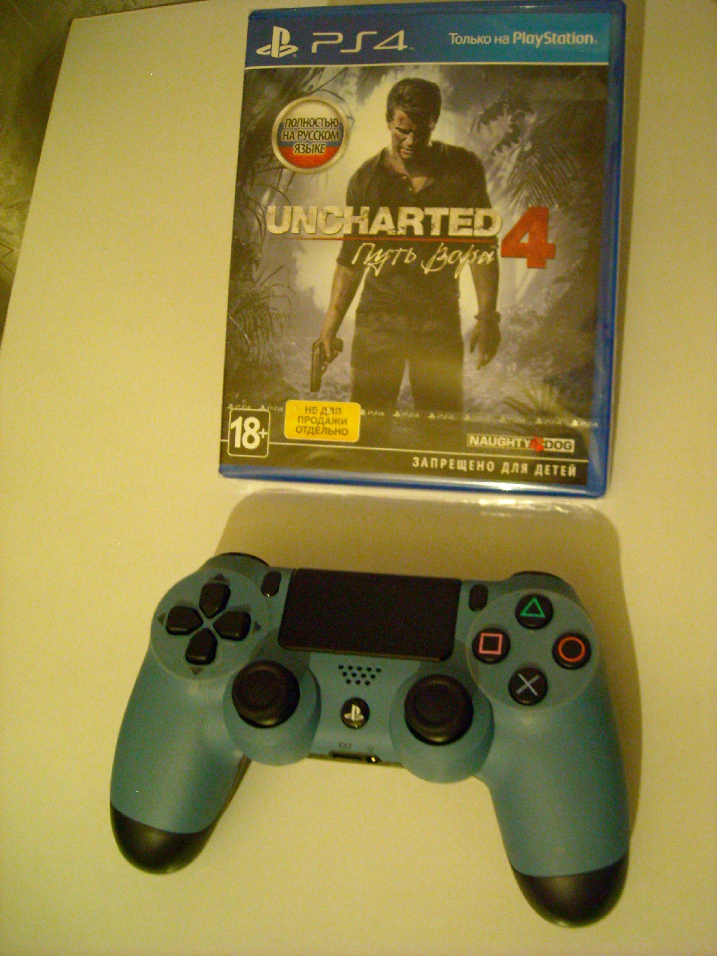 Анбоксинг Sony PlayStation 4 Uncharted Limited Edition и несколько слов о. - Изображение 4
