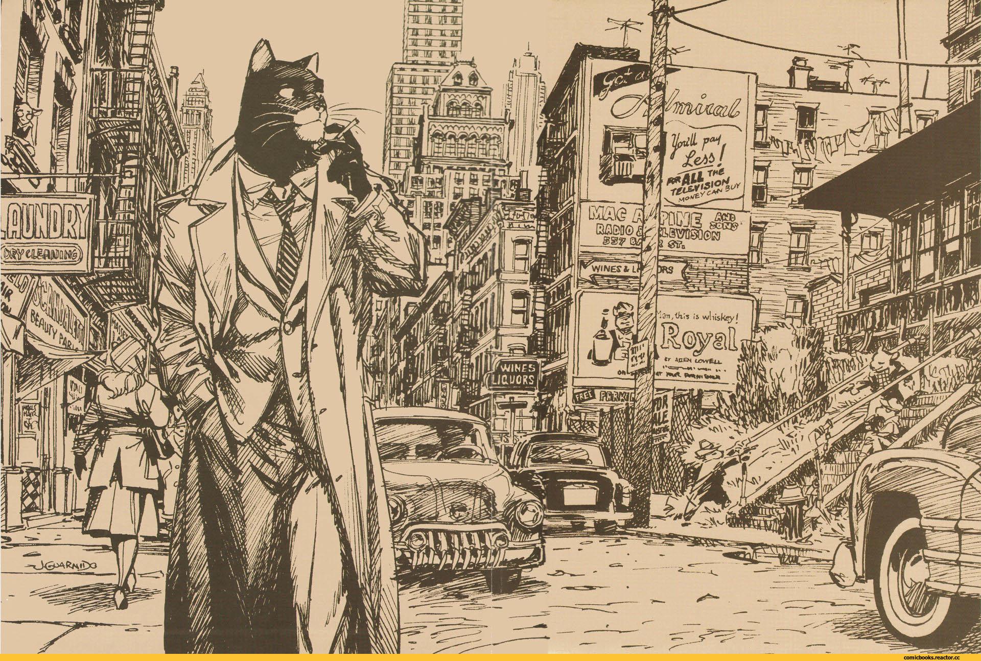 """Это комиксы №4: """"Blacksad"""" - Зверополис для взрослых. - Изображение 1"""