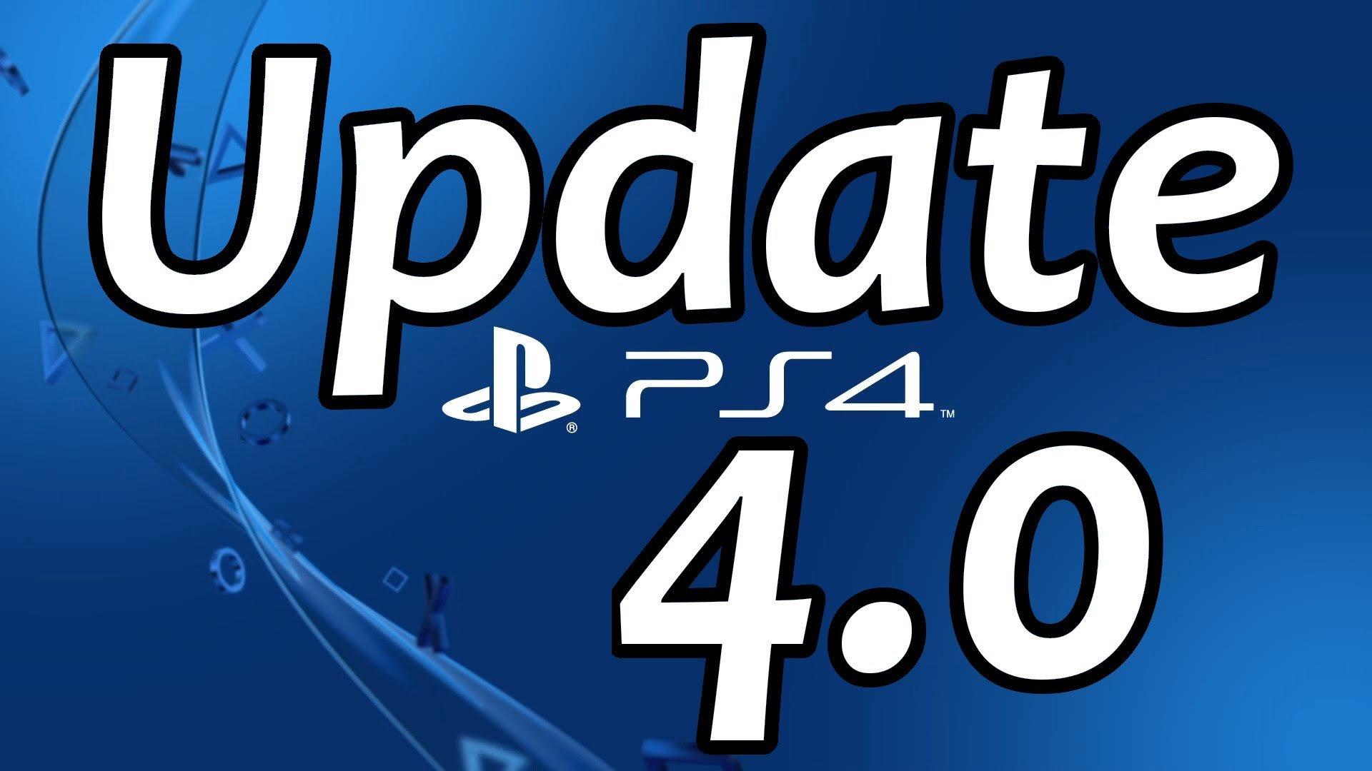 """Обновление PS4 4.0 - """"не нужно"""". - Изображение 1"""