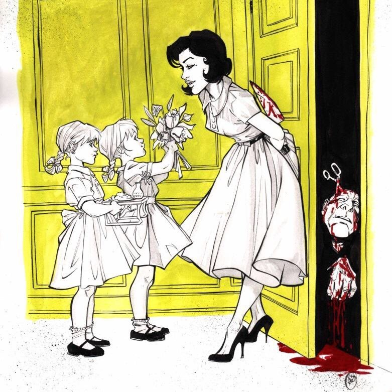 Это комиксы № 5: Джози Шуллер: любящая мать и безжалостная убийца. - Изображение 18