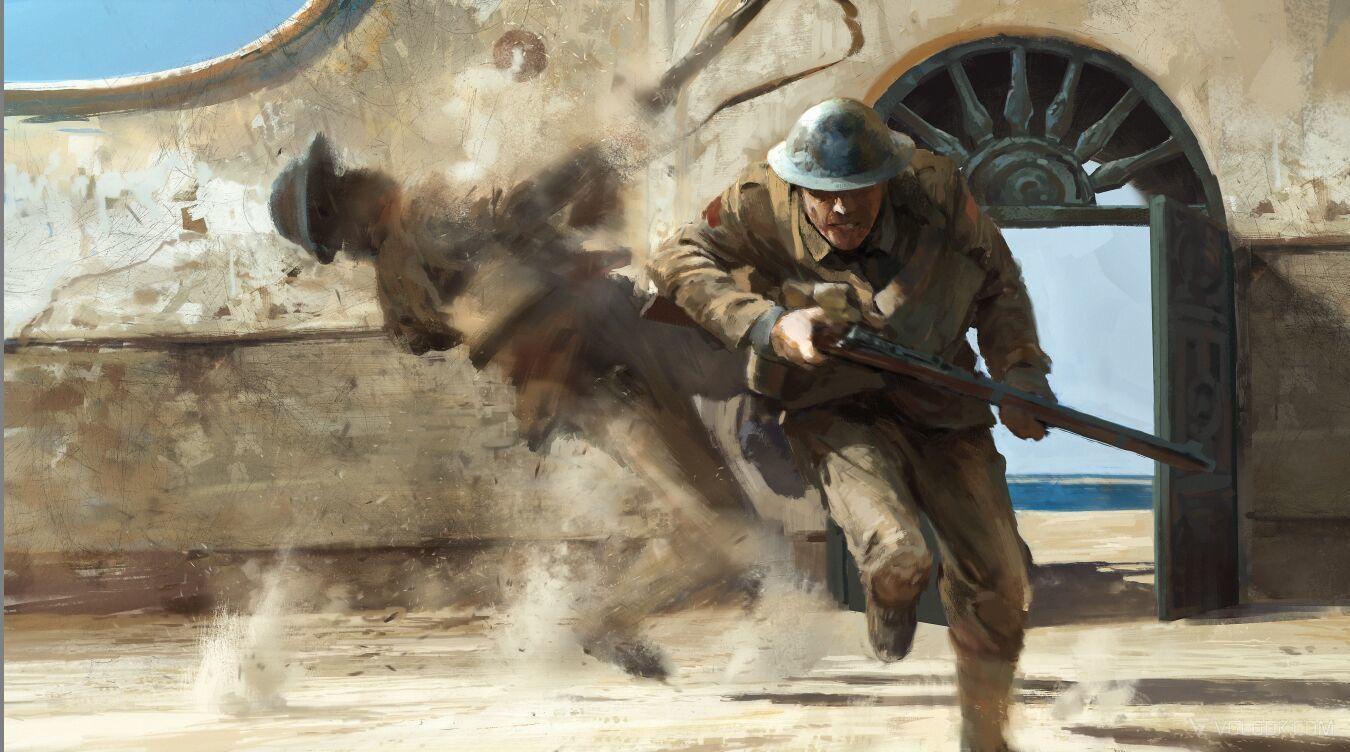 Норфолкский полк. Память в  beta Battlefield 1. - Изображение 2