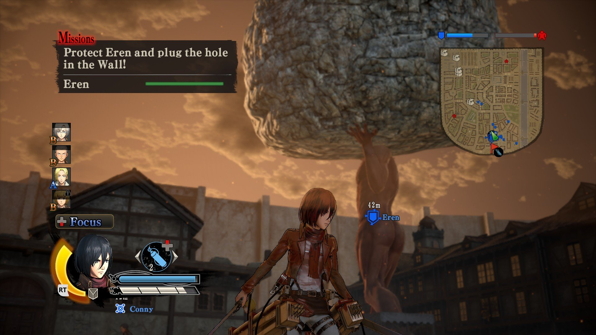 Пост-прохождение Attack of Titan: Wings of Freedom Часть 3. - Изображение 12