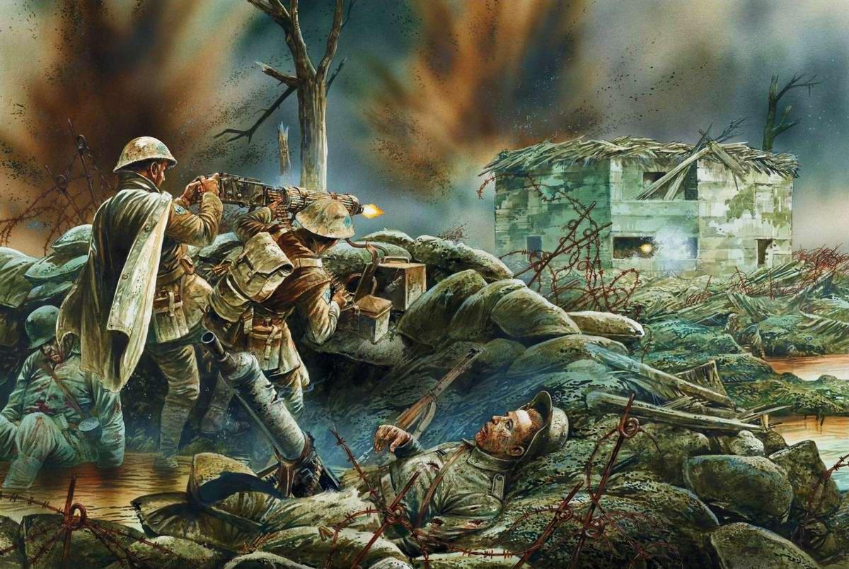Норфолкский полк. Память в  beta Battlefield 1. - Изображение 1