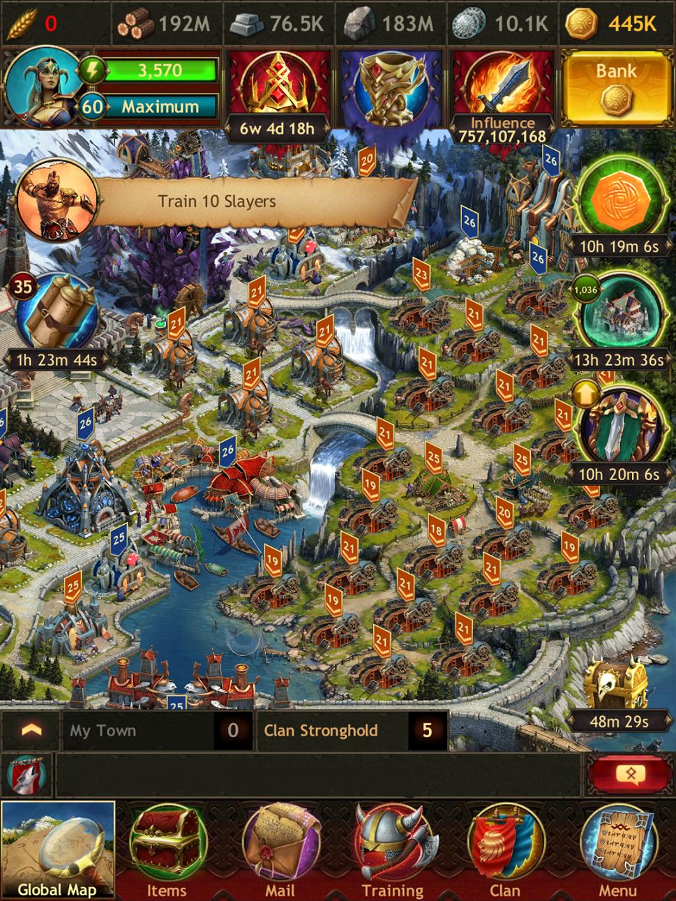 Золото, экономика и развитие в Vikings War of Clans: гайд по выживанию. - Изображение 1