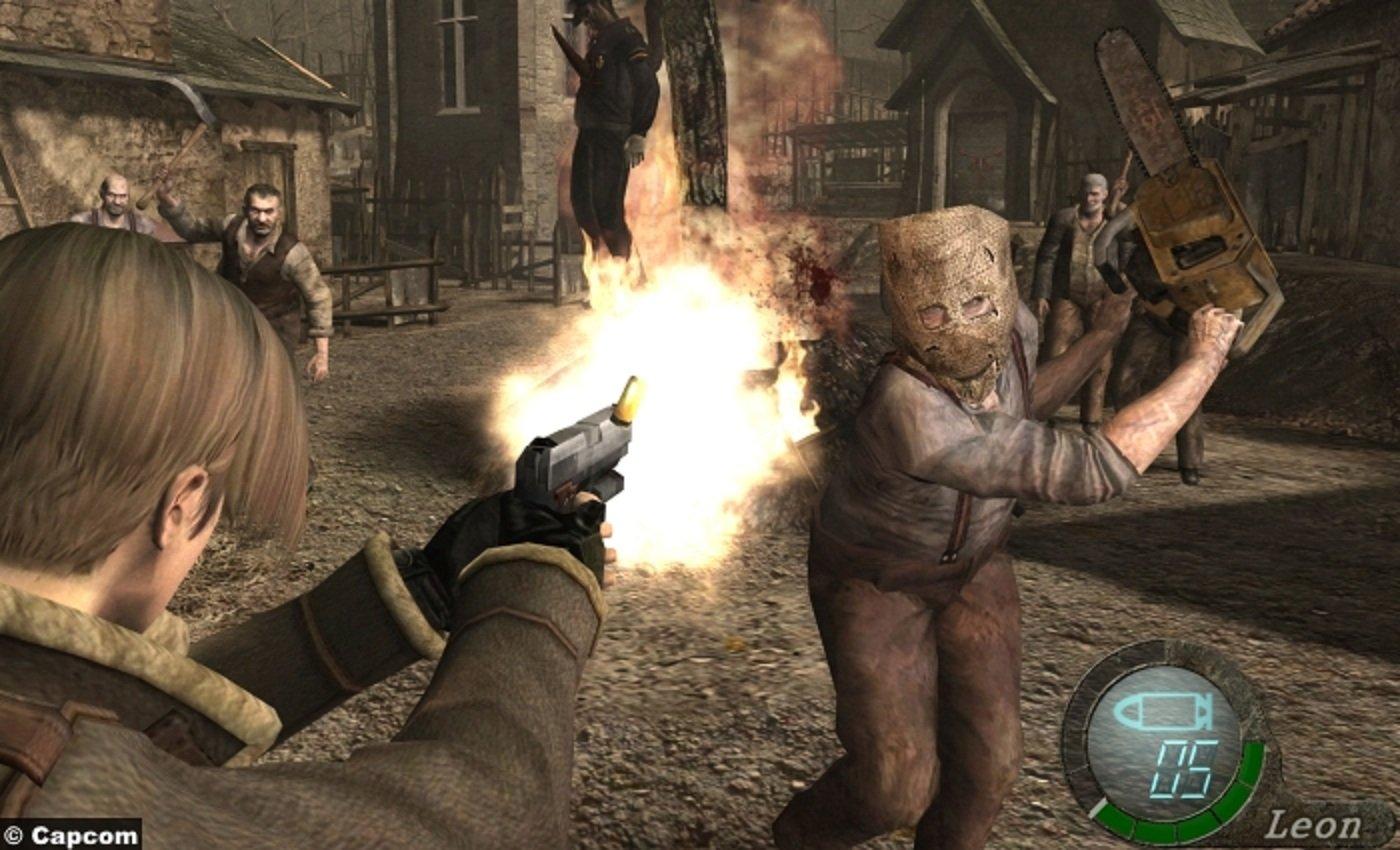 Ностальжи обзор Resident Evil 4 . - Изображение 4