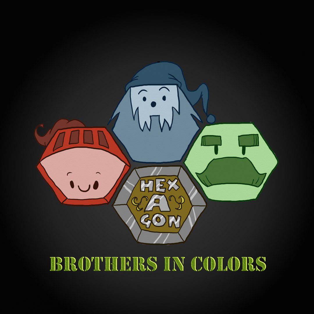 Brothers in colors/Братья по цвету/инди игра для  GamesJamKanobu2017. - Изображение 1