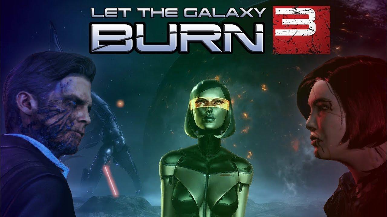 Всё о сгоревшей галактике . - Изображение 1