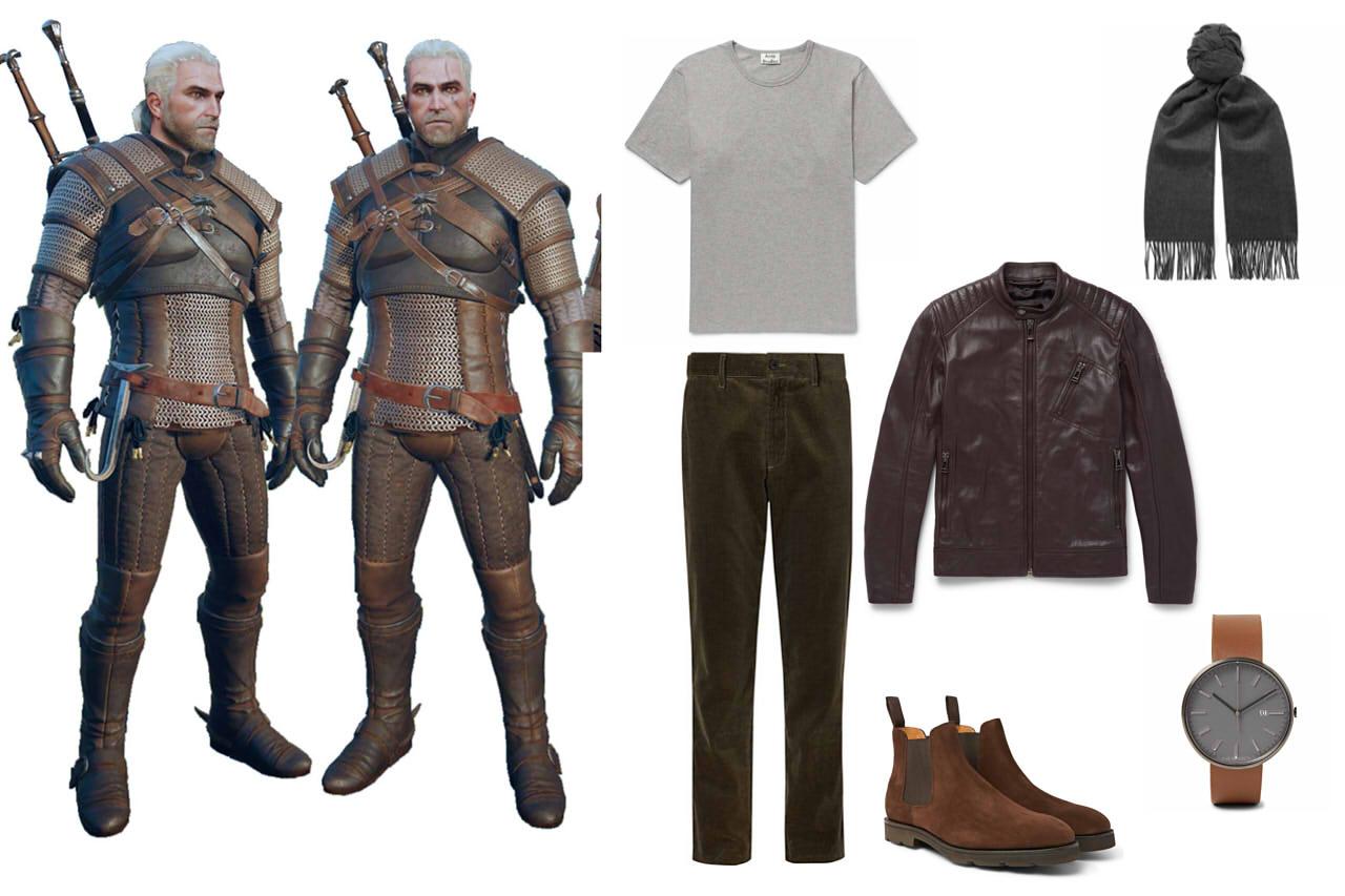 """ИГРОМОДА: Одеваемся как персонажи """"Ведьмак 3"""" и следуем трендам. - Изображение 6"""