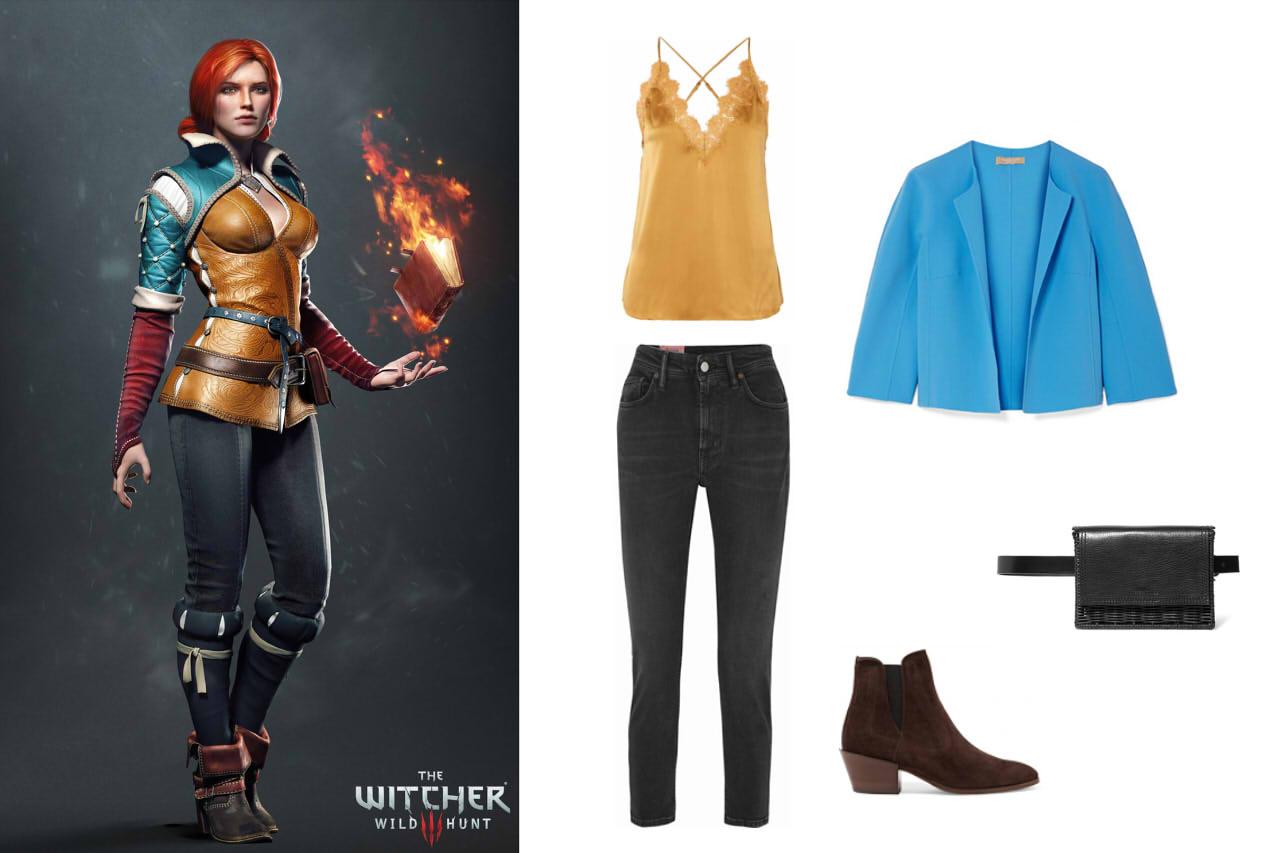 """ИГРОМОДА: Одеваемся как персонажи """"Ведьмак 3"""" и следуем трендам. - Изображение 2"""