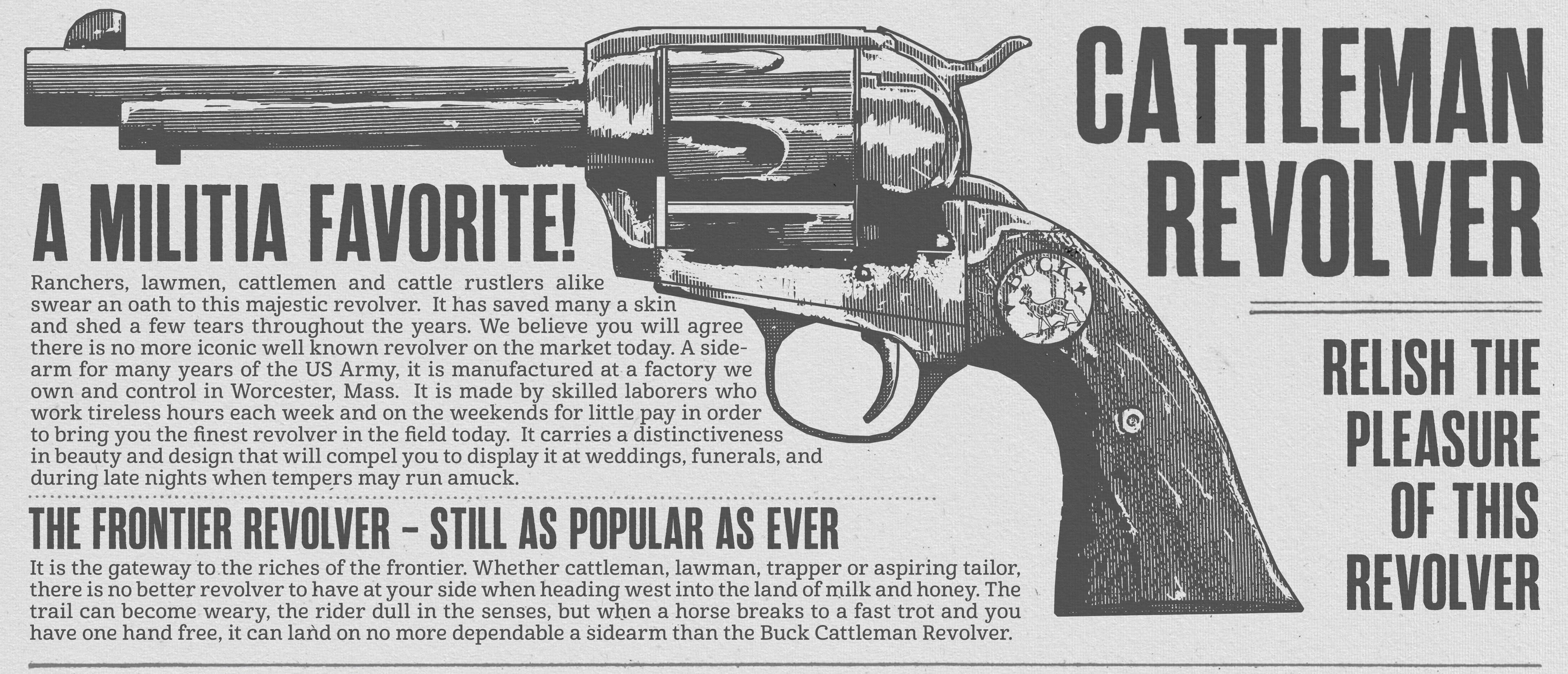 [Гайд] Оружие в игре Red Dead Redemption 2. - Изображение 2