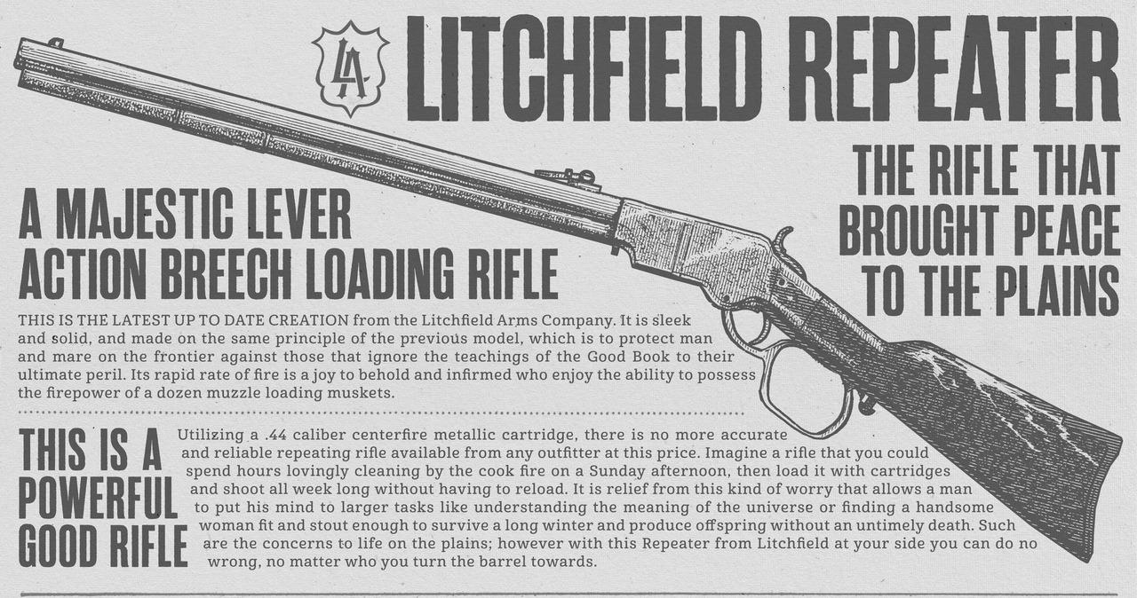 [Гайд] Оружие в игре Red Dead Redemption 2. - Изображение 6