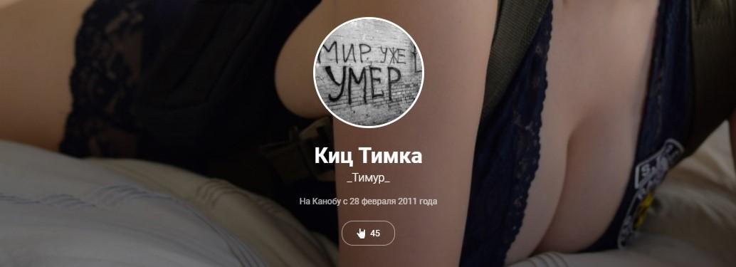 ЗМК - Пилотный выпуск: Киц Тимка. - Изображение 1