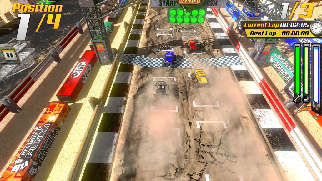 Обзор не найденной игры (ч.55)  SuperTrucks Offroad. - Изображение 4