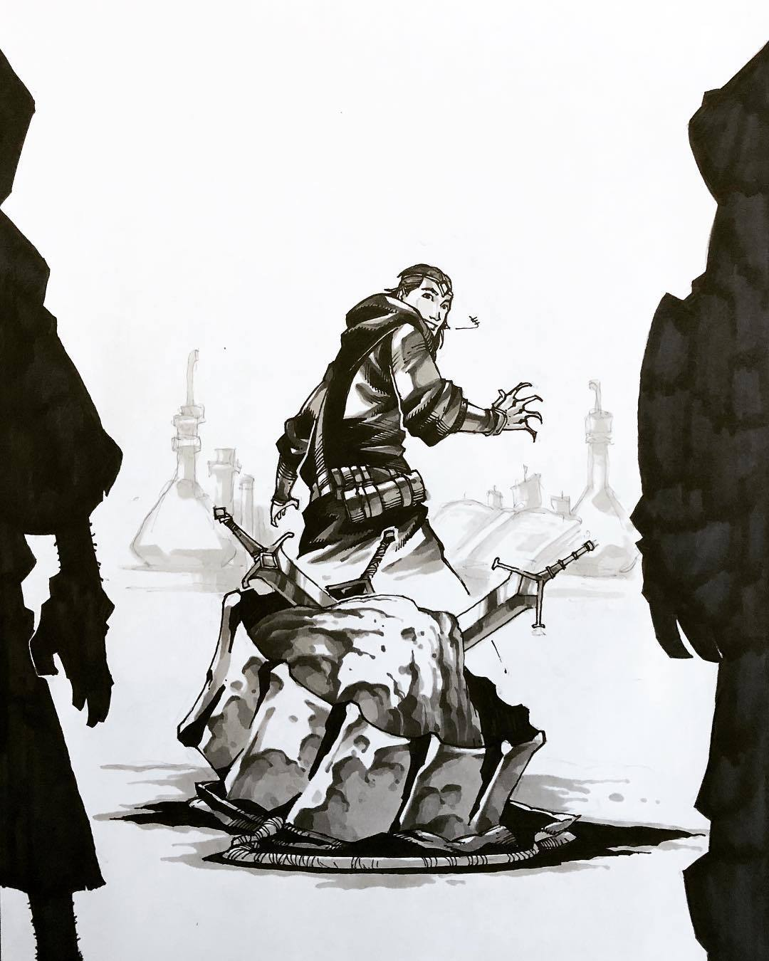 Похитители мечей. - Изображение 21