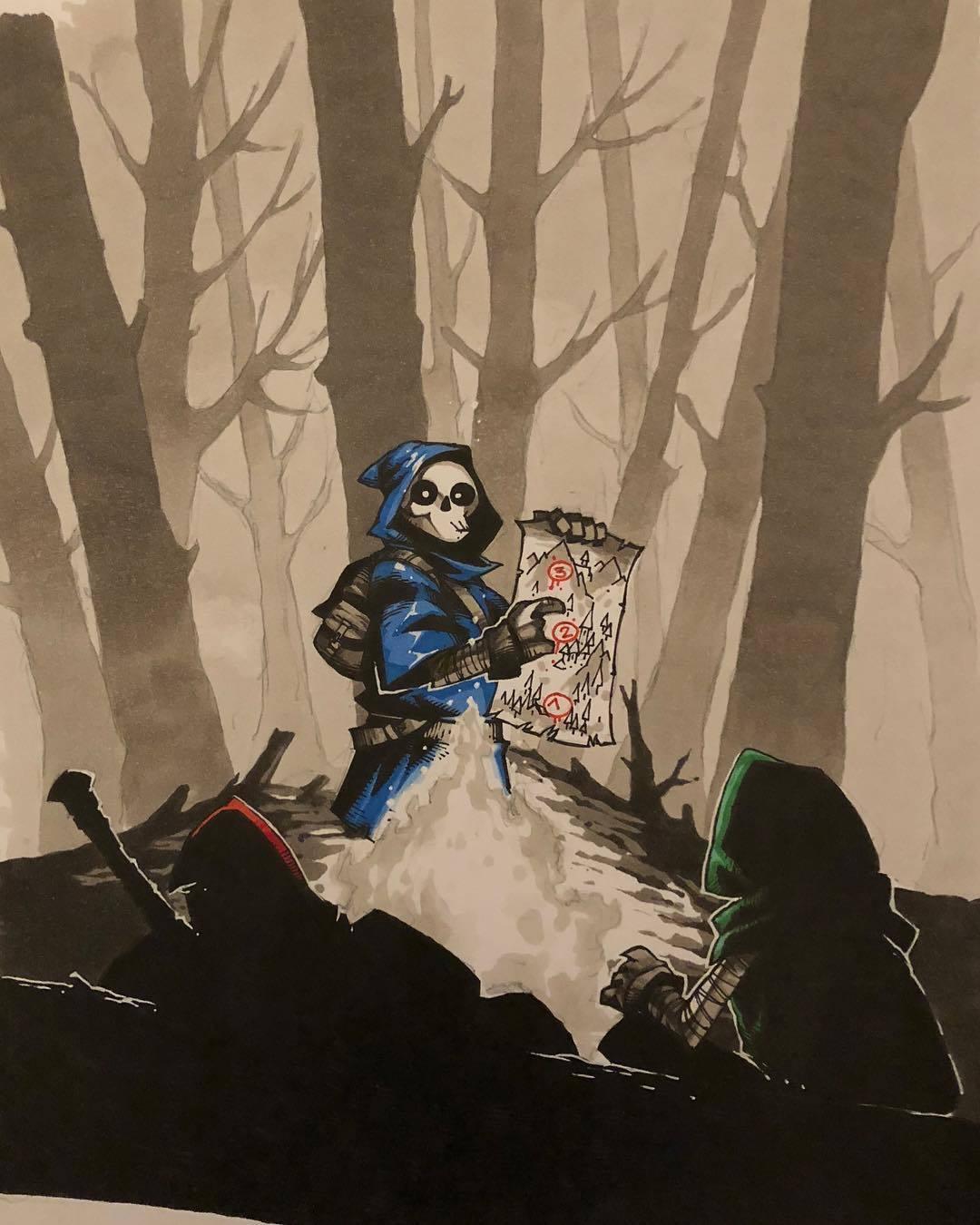 Похитители мечей. - Изображение 2