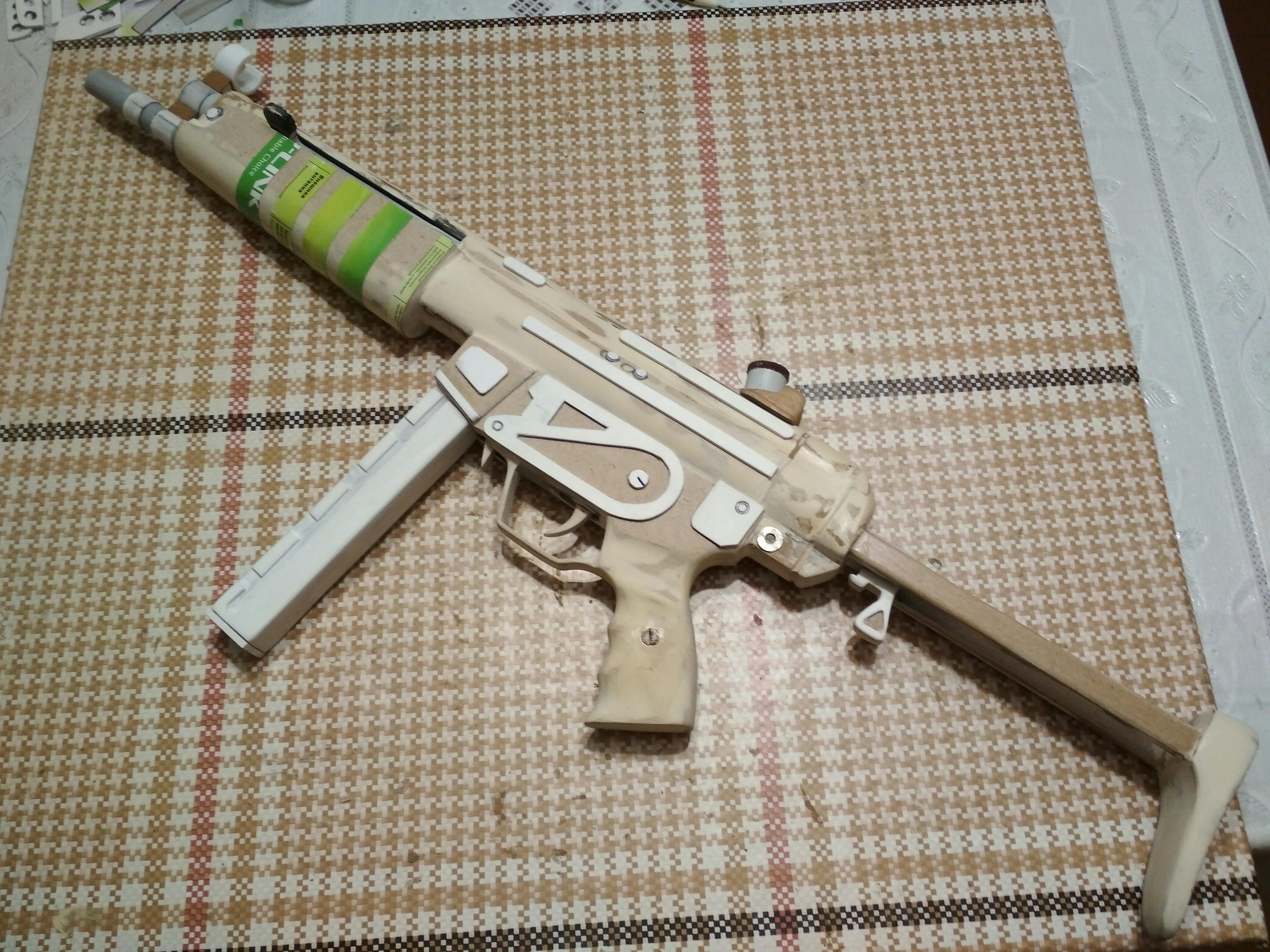 Сделал своими руками MP-5A3 из дерева👍. - Изображение 10