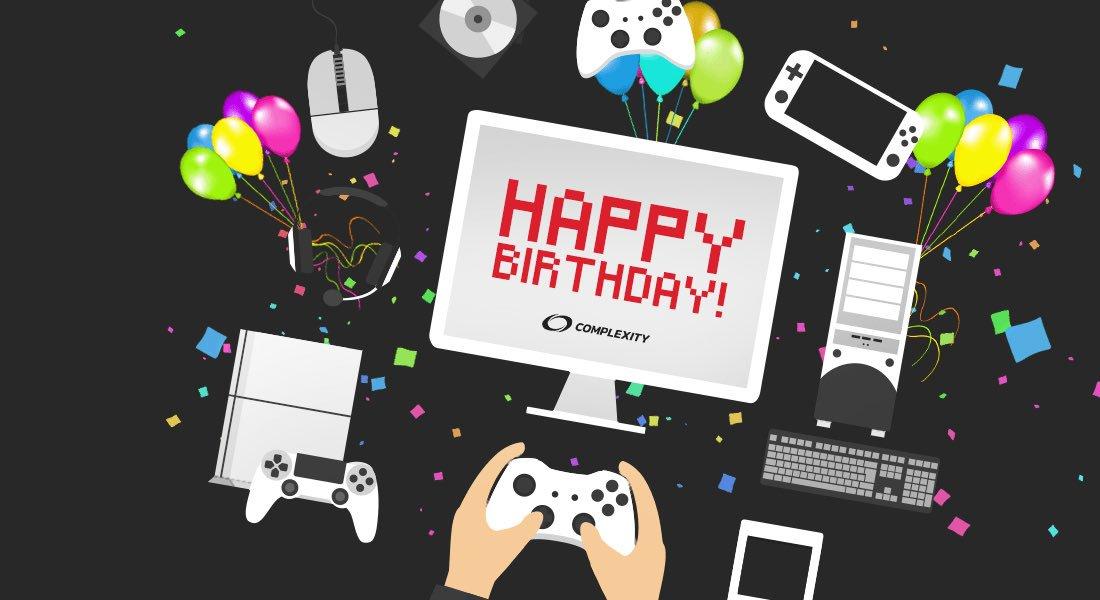 Картинки с днем рождения для геймера