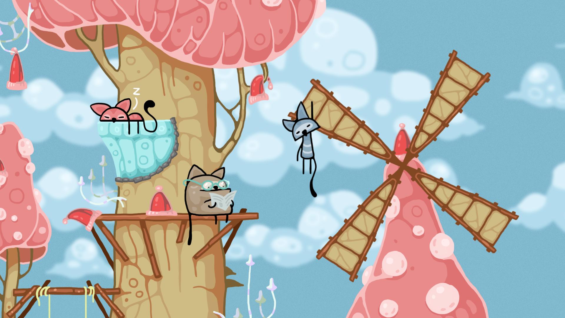 Грибные Коты. Бесплатно на Steam.. - Изображение 1