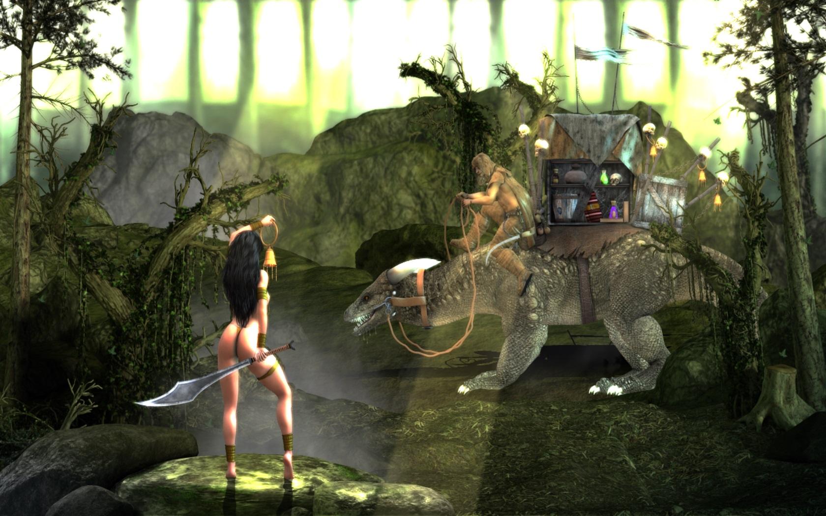 Игровая клубничка 13 : Age of Barbarian . - Изображение 10