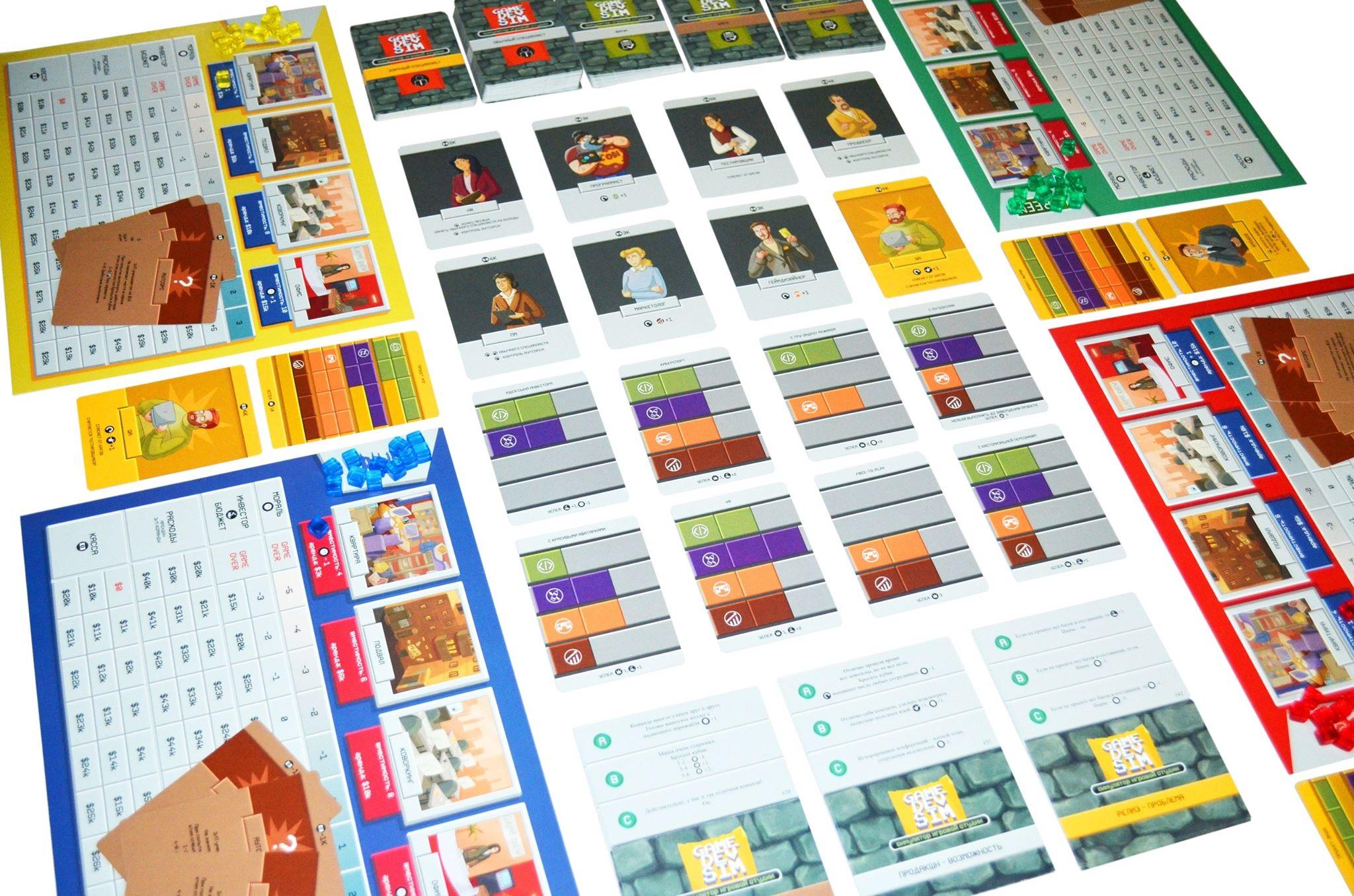 Game Dev Sim: настолка посвященная разработке игр. - Изображение 2