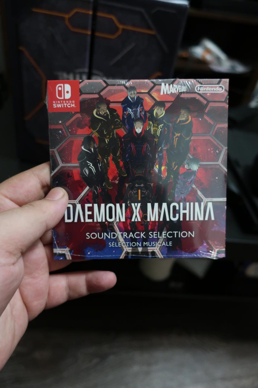 Daemon x Machina. Orbital Limited Edition. [Unboxing]. - Изображение 9