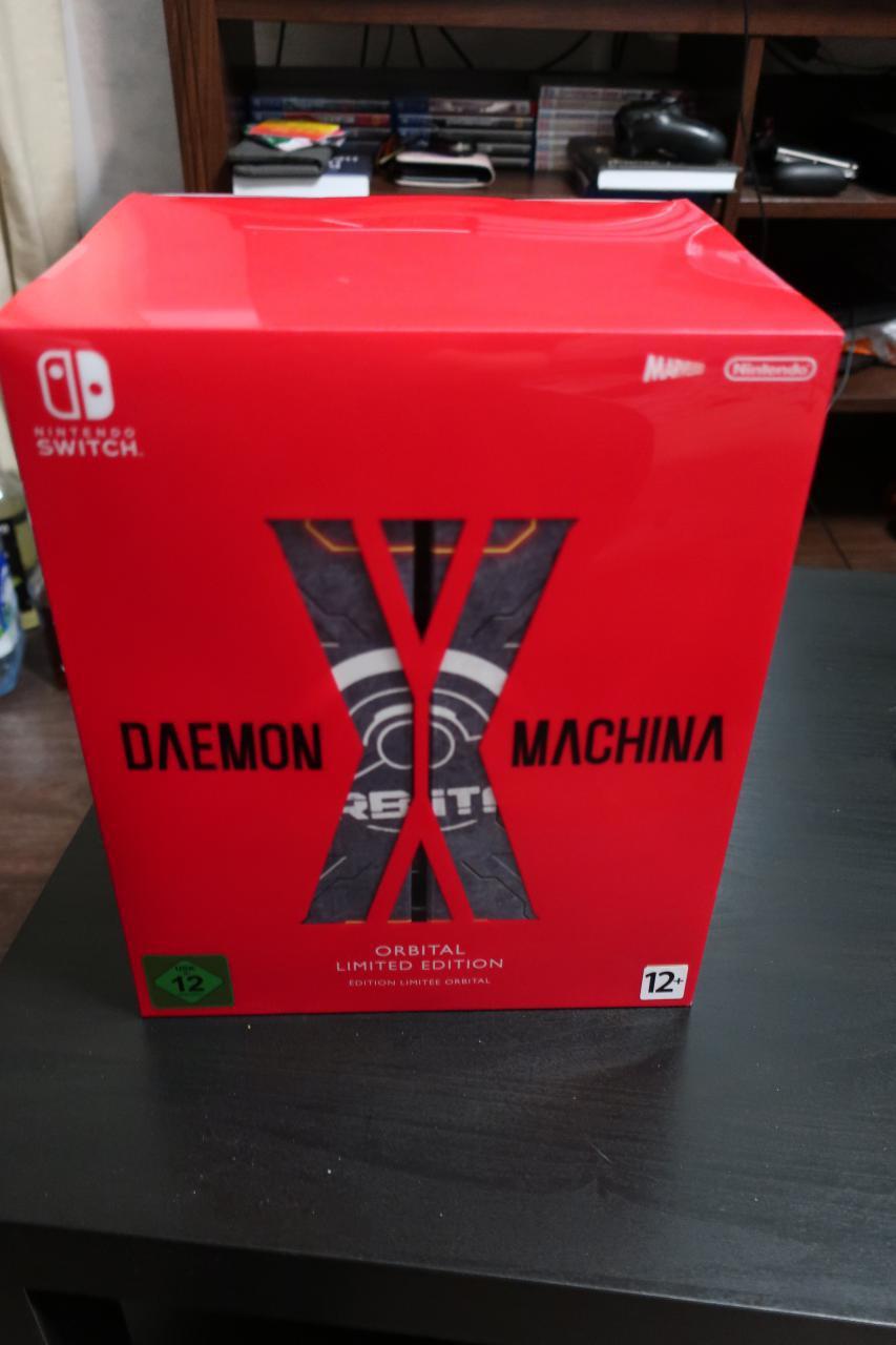 Daemon x Machina. Orbital Limited Edition. [Unboxing]. - Изображение 2