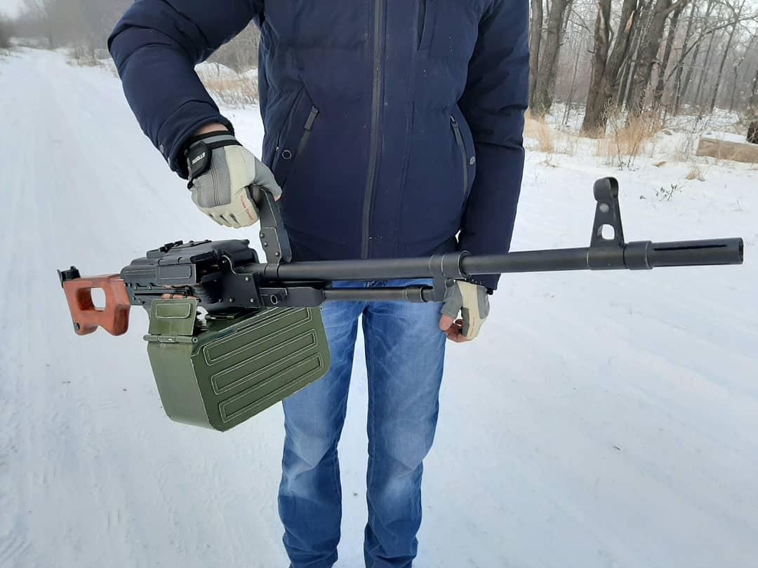 Игрушка-макет Пулемёта Калашникова из дерева. - Изображение 13