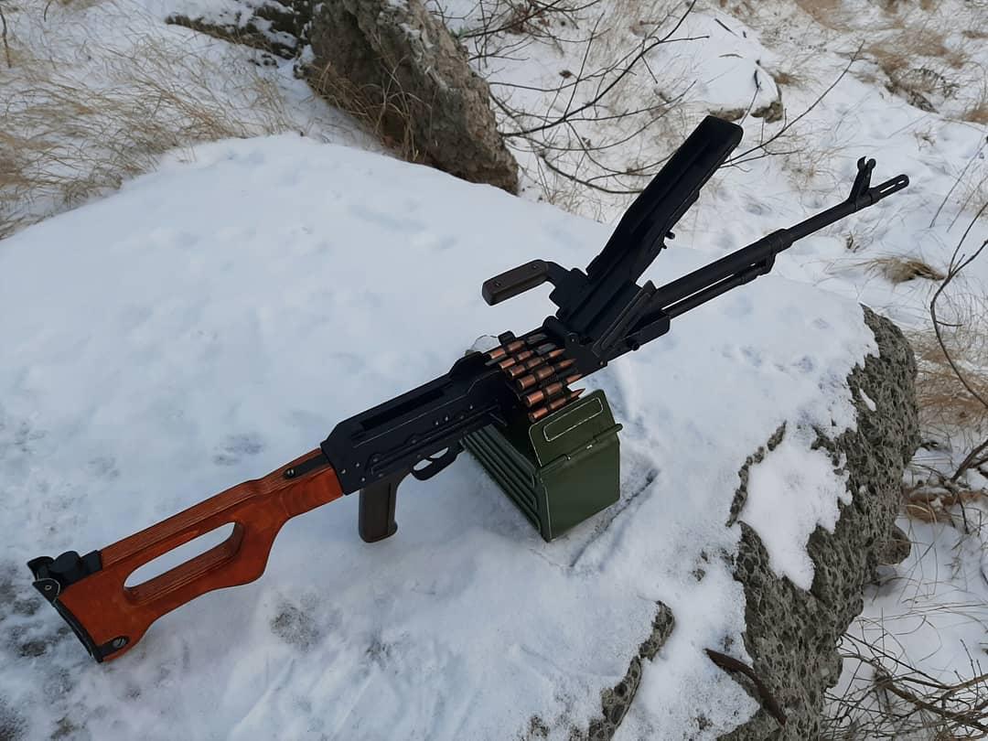 Игрушка-макет Пулемёта Калашникова из дерева. - Изображение 14