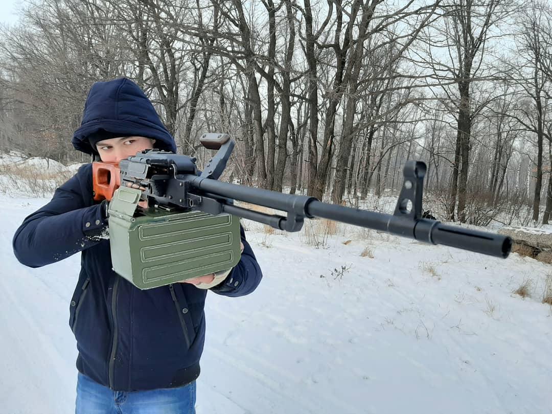 Игрушка-макет Пулемёта Калашникова из дерева. - Изображение 16