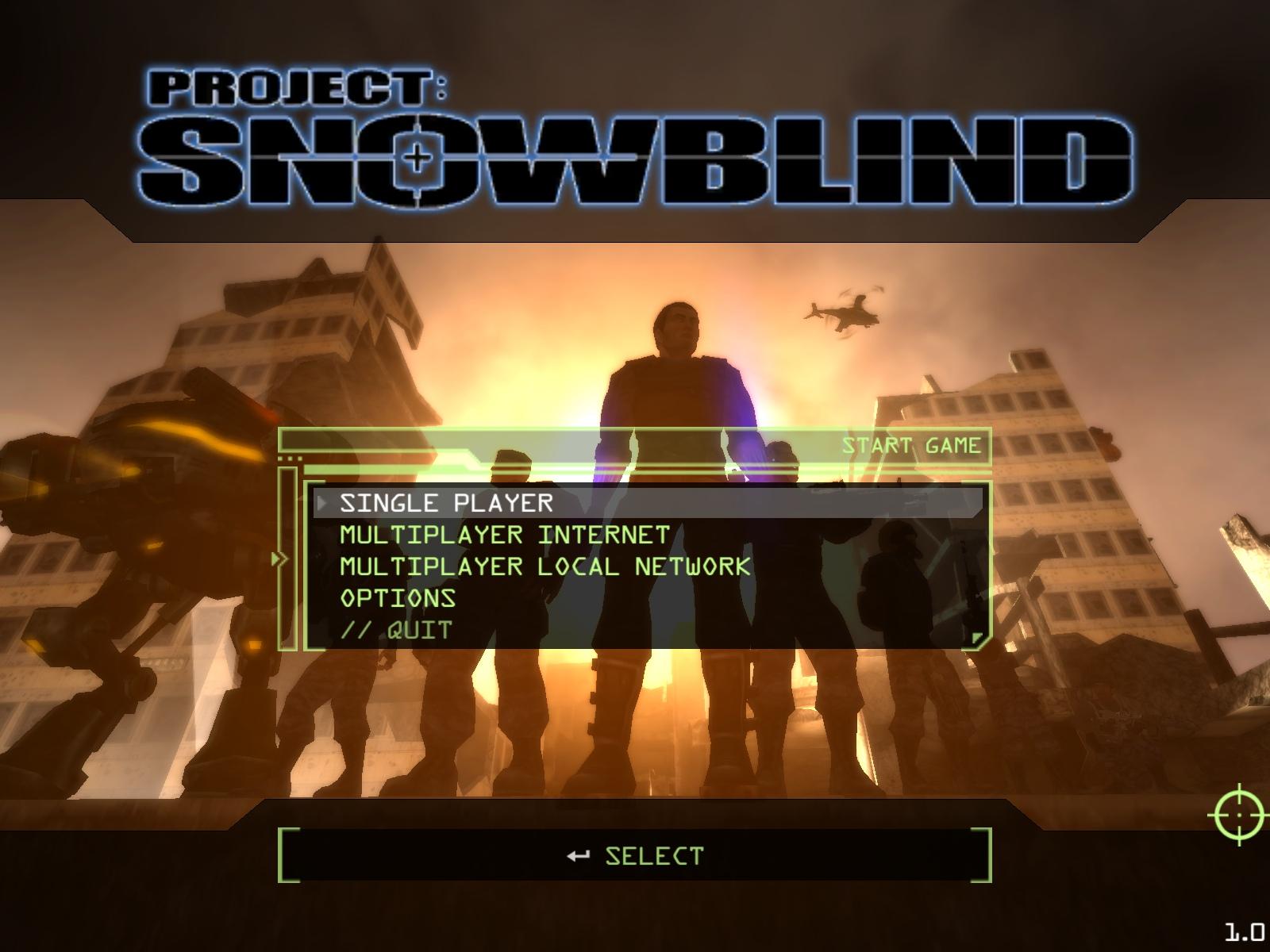 Возвращение в легенду #5 Project: Snowblind. - Изображение 1