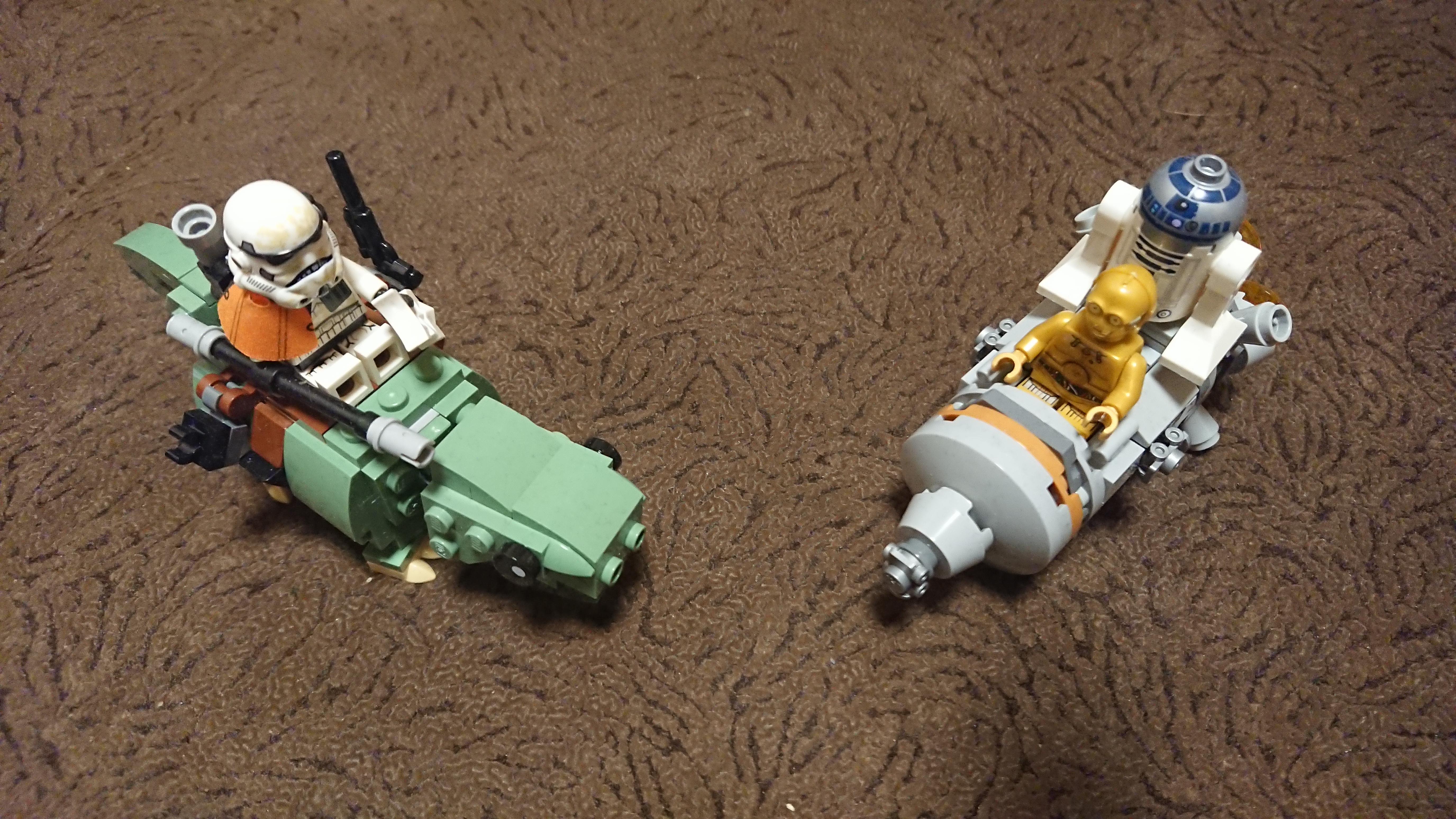 LEGO-обзор: Escape Pod vs. Dewback (75228). - Изображение 1
