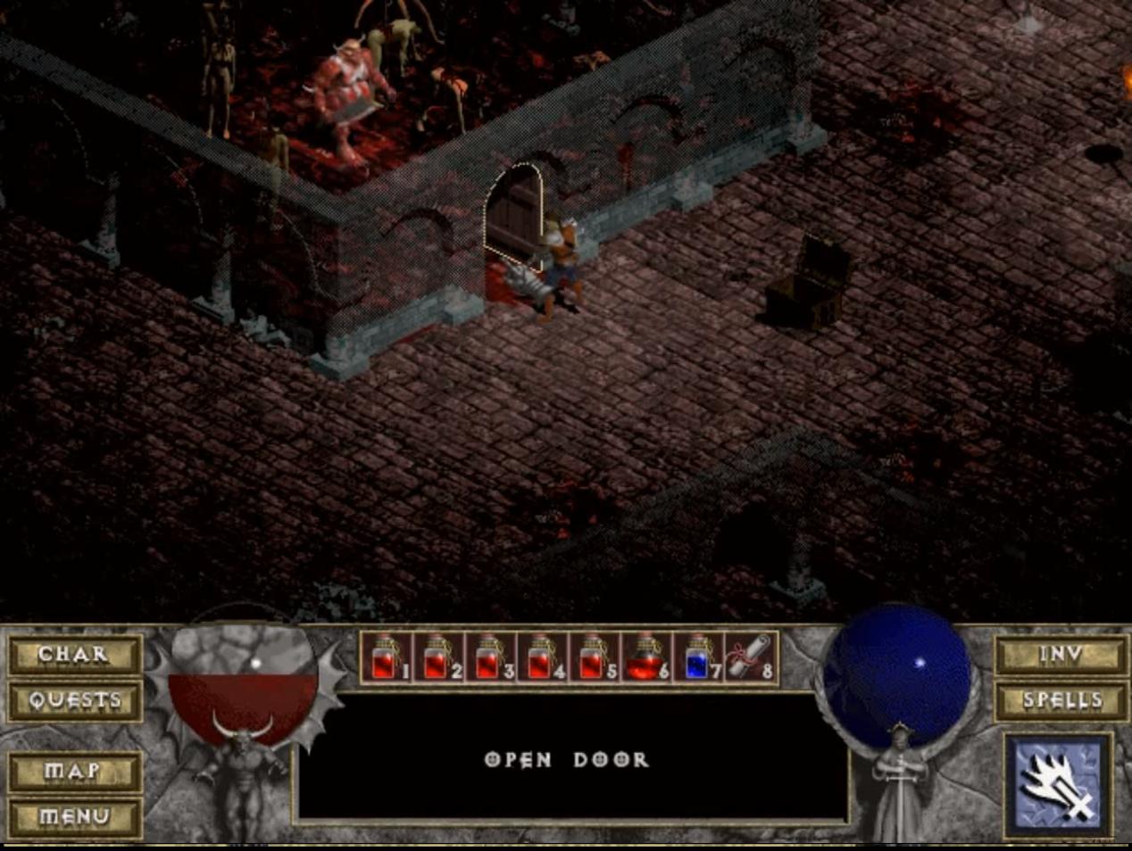 ДЬЯВОЛЬСКАЯ НОСТАЛЬГИЯ | Обзор игры Diablo. - Изображение 7