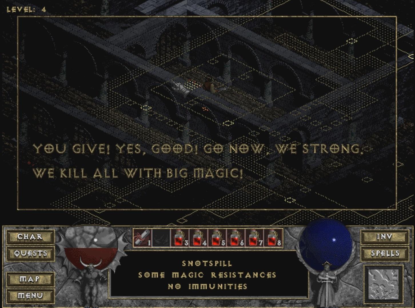 ДЬЯВОЛЬСКАЯ НОСТАЛЬГИЯ | Обзор игры Diablo. - Изображение 8