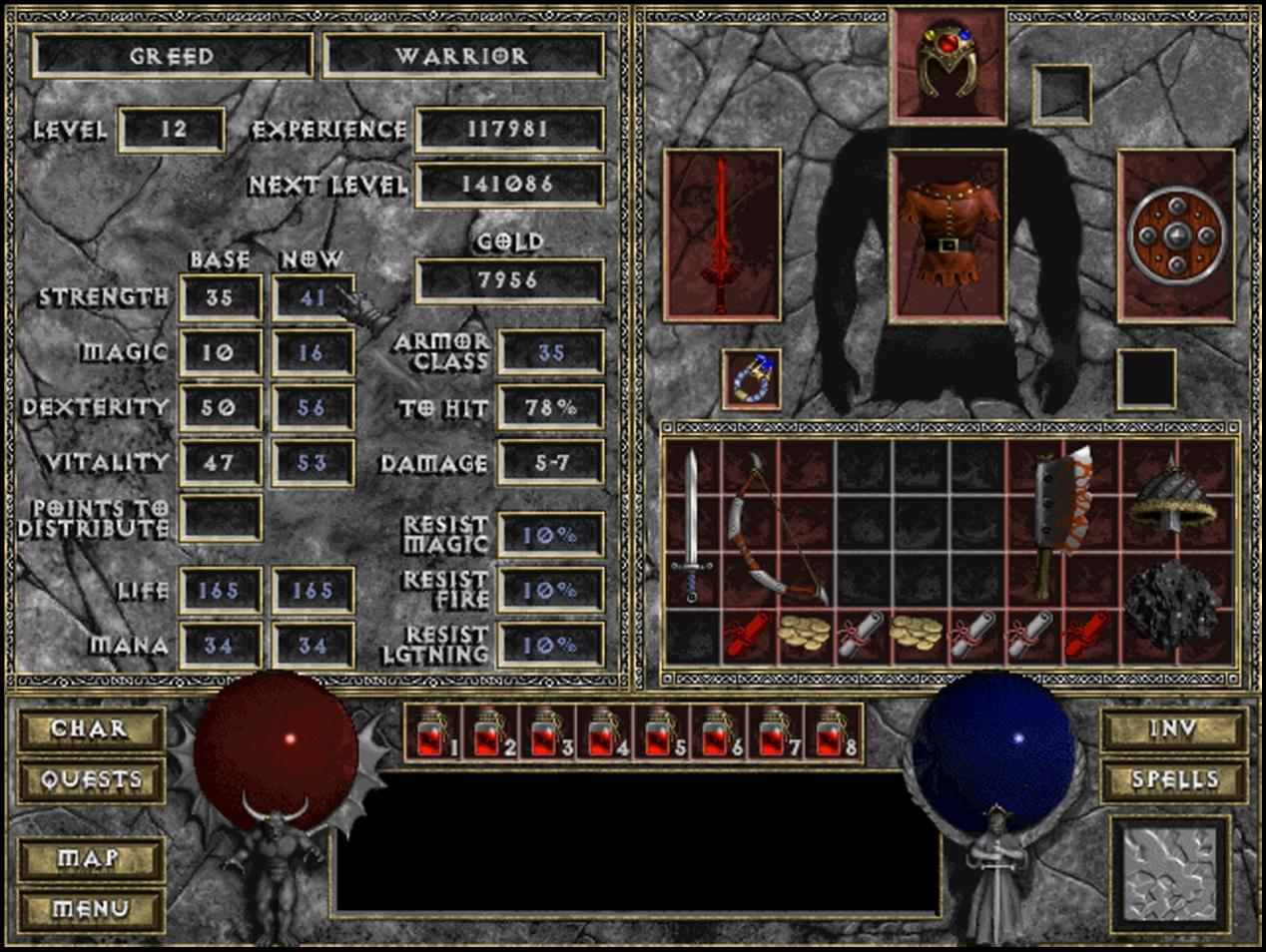 ДЬЯВОЛЬСКАЯ НОСТАЛЬГИЯ | Обзор игры Diablo. - Изображение 6