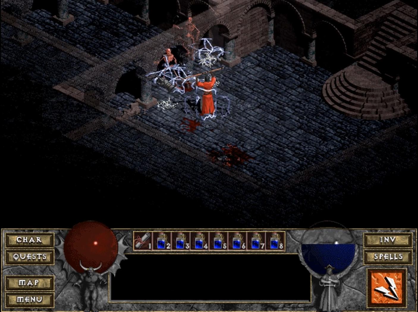 ДЬЯВОЛЬСКАЯ НОСТАЛЬГИЯ | Обзор игры Diablo. - Изображение 13