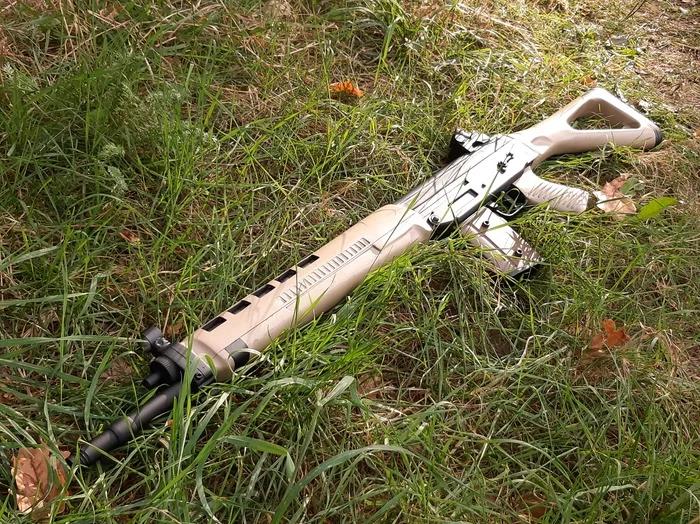 Своими руками - деревянный макет SIG-550 Стрелка из игры S.T.A.L.K.E.R. - Изображение 12
