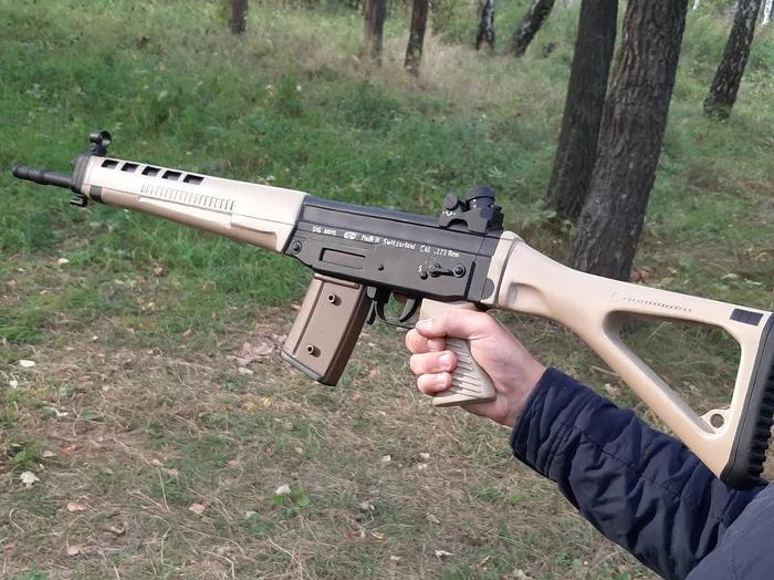 Своими руками - деревянный макет SIG-550 Стрелка из игры S.T.A.L.K.E.R. - Изображение 1