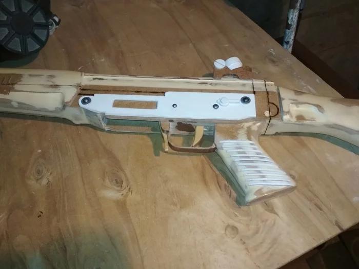 Своими руками - деревянный макет SIG-550 Стрелка из игры S.T.A.L.K.E.R. - Изображение 11
