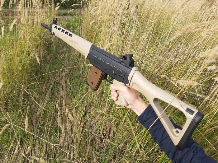 Своими руками - деревянный макет SIG-550 Стрелка из игры S.T.A.L.K.E.R. - Изображение 14