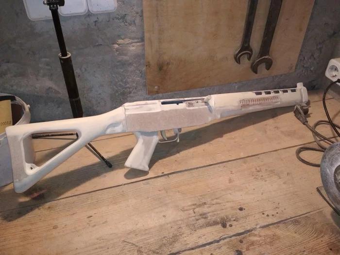 Своими руками - деревянный макет SIG-550 Стрелка из игры S.T.A.L.K.E.R. - Изображение 7