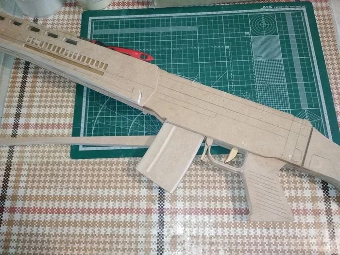 Своими руками - деревянный макет SIG-550 Стрелка из игры S.T.A.L.K.E.R. - Изображение 3