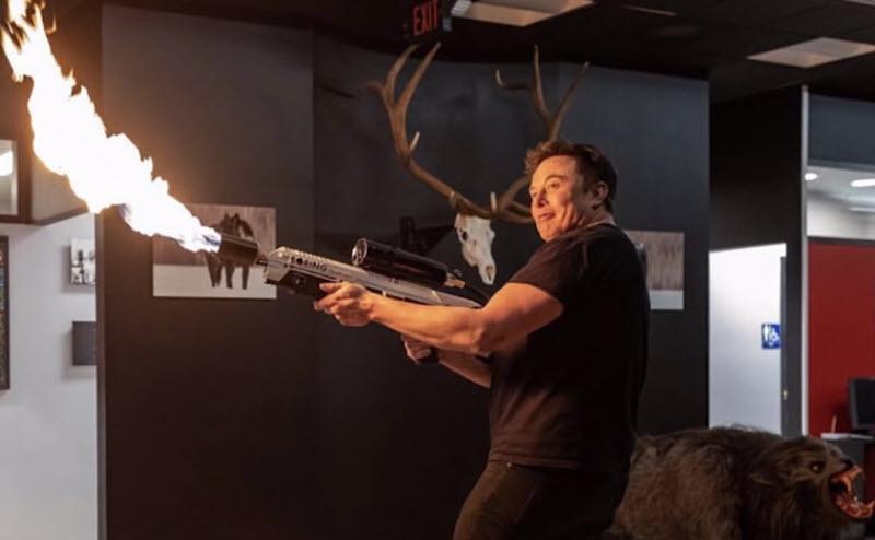 Как тебе наша огнезащита, Илон Маск?