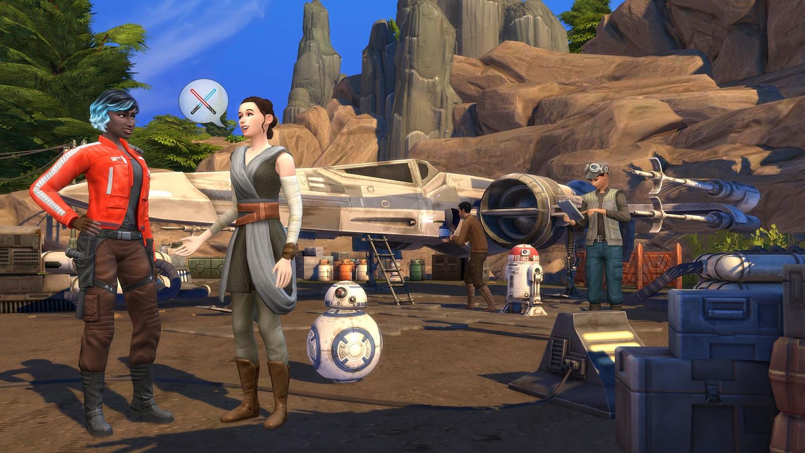 Спецпроект. Новое дополнение к The Sims 4 – Star Wars: Путешествие на Батуу.