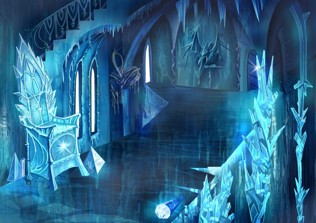 картинка сказочный дворец снежной королевы как каблучки