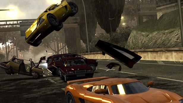 Скачать бесплатно игру Burnout Dominator для PSP