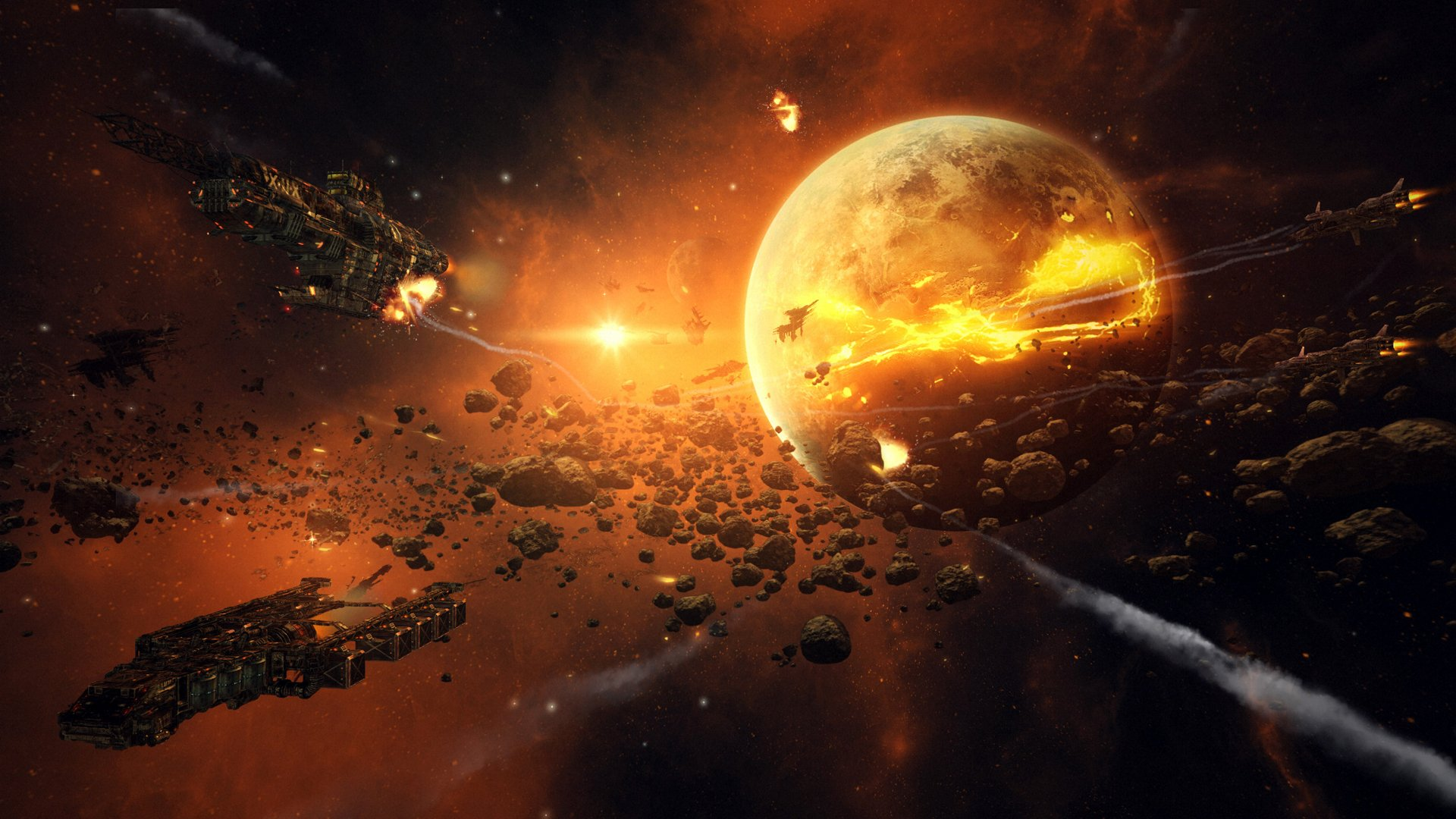 asteroid planet game - HD 1690×1080