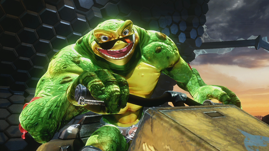 Скриншоты Battletoads 2019