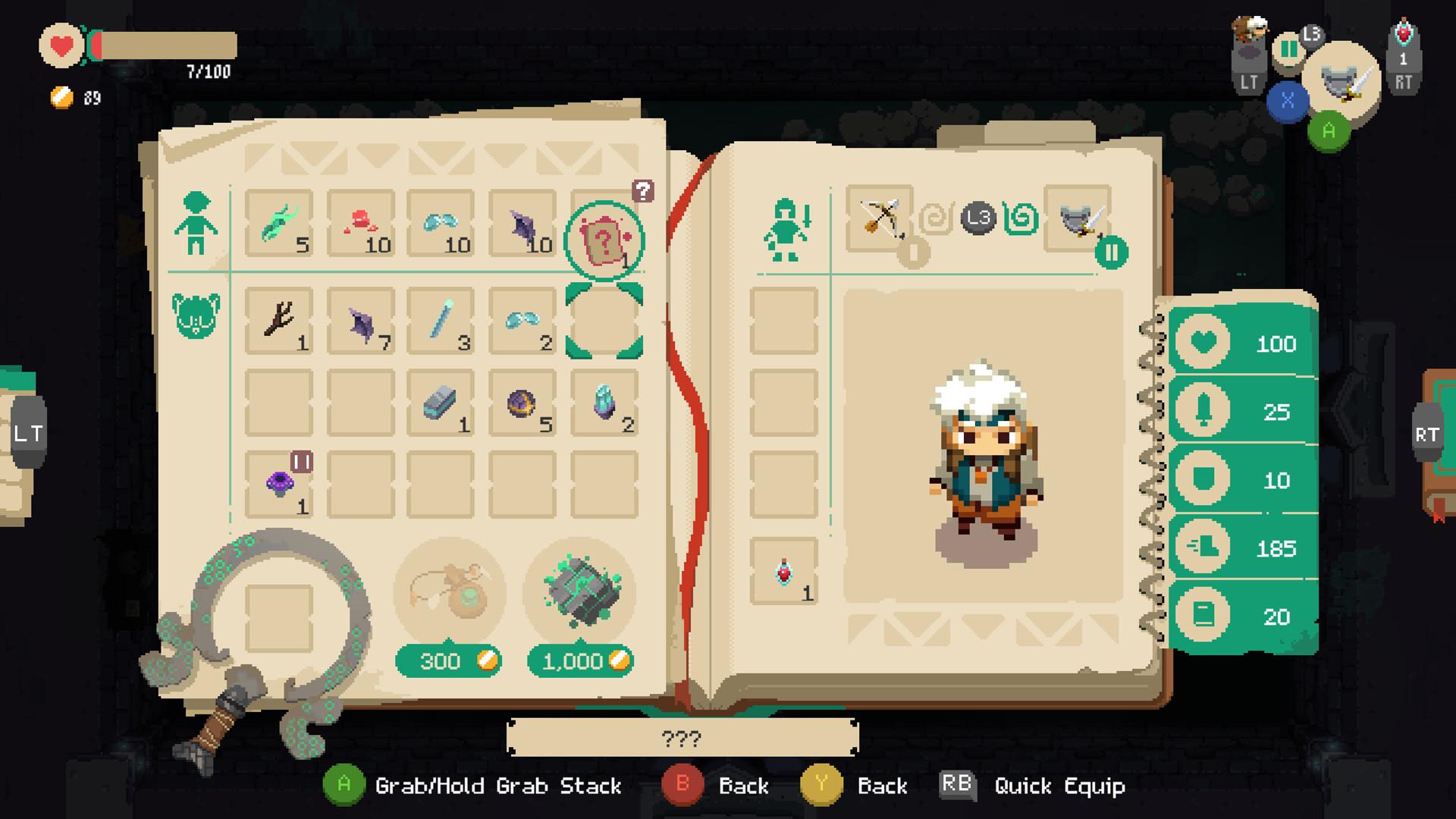 Скриншот к игре Moonlighter v.1.11.22 [GOG] (2018) скачать торрент Лицензия